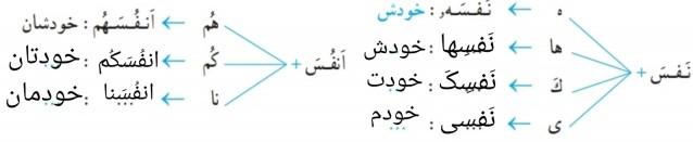 جواب فعالیت دوم درس 6 قرآن هشتم